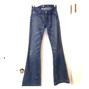 7 for all Mankind DOJO flare jeans. SZ 28